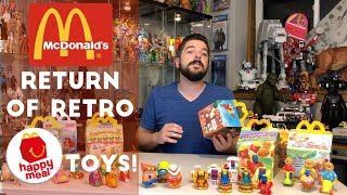 McDonalds Retro Happy Meal Toys are Re-released! 40th Anniversary Surprise boxes!