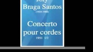 Joly Braga Santos (1924-1988) : Concerto pour cordes en ré majeur (1951) 1/2