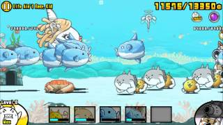 The Battle Cats: Survive!! Mola Mola!! (生きろ!マンボウ) Collaboration Event