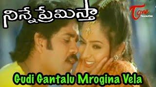 Ninne Premistha - Nagarjuna - Soundarya - Gudi Gantalu Mrogina Vela