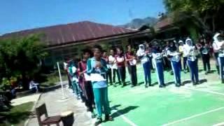 Yel-yel mos (kelas newton SMA N 1 LU Bengkulu)