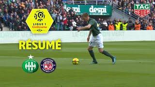 AS Saint-Etienne - Toulouse FC ( 2-0 ) - Résumé - (ASSE - TFC) / 2018-19