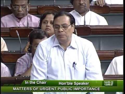 Matters of Urgent Public Importance: Sh. Harin Pathak: 14.05.2012