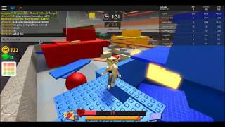 Playing Bomb Survival on Roblox