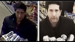 THE ONE WHERE UK POLICE ARR*ST  DAVID SCHWIMMER LOOK-ALIKE BEER THIEF