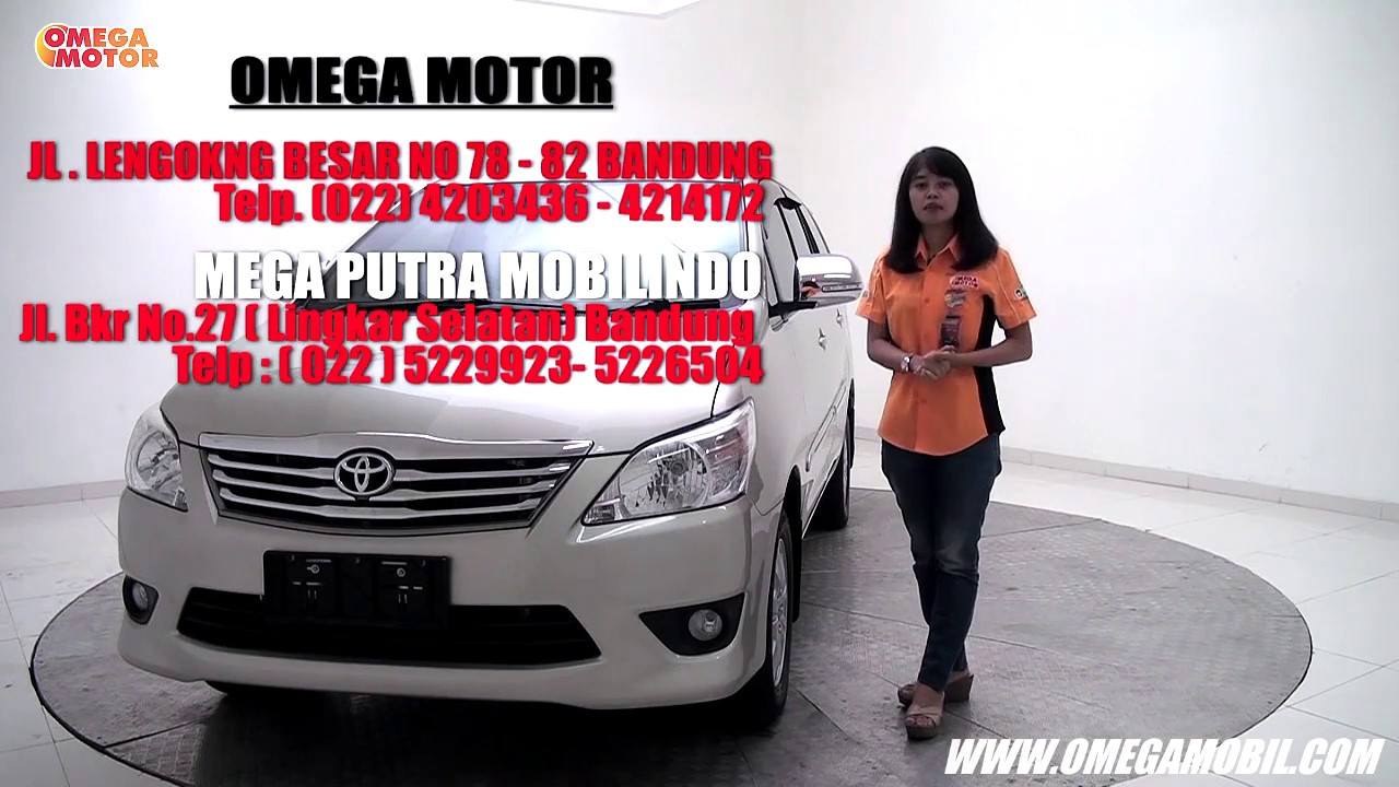 Jual Mobil Toyota Kijang Innova G 2 0 At 2013 Sold Youtube