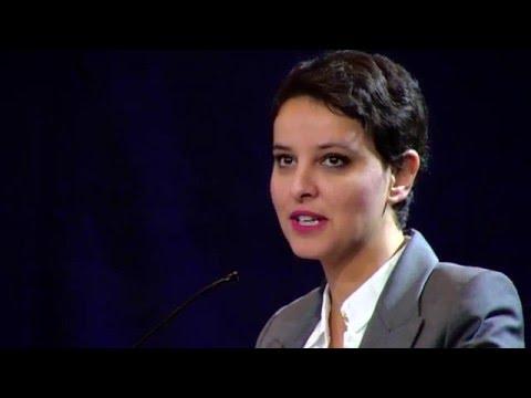 Najat Vallaud-Belkacem, ministre de l'Éducation nationale - Discours Controverses de Descartes 2016