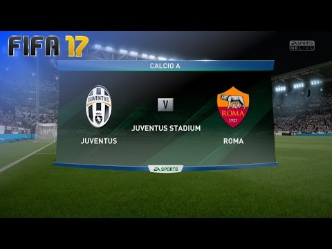 FIFA 17 - Juventus vs. AS Roma @ Juventus Stadium