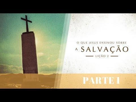 BÍBLIA FÁCIL | ENSINOS DE JESUS | TEMA 2 (PARTE 1) #SALVAÇÃO | 19ª TEMPORADA