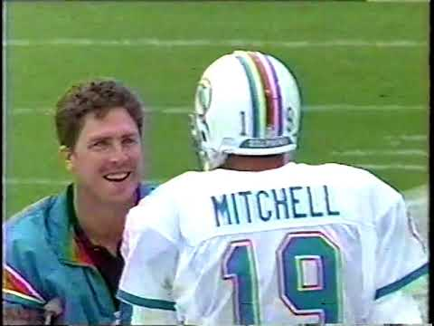 1993 Miami Dolphins season highlights Part 1