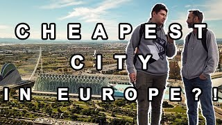 Cheapest city in Europe?! / Cost of living in Valencia (Spain)