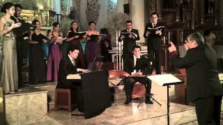 Herr, wenn ich nur dich habe (Johan Michael Bach) - Ensamble de Madrigalistas de Xalapa