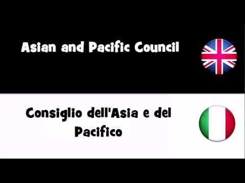TRANSLATE IN 20 LANGUAGES = Asian and Pacific Council