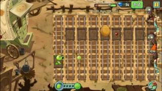 Растения против Зомби 2 Wild West (китайская версия 1.9.1) day 12 (3 stars)