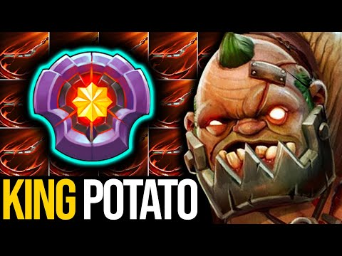MONSTER OFFLANE - KING POTATO!!! NOTHING HARD FOR HIM TO DESTROY THIS IMMORTAL RANK   Pudge Official
