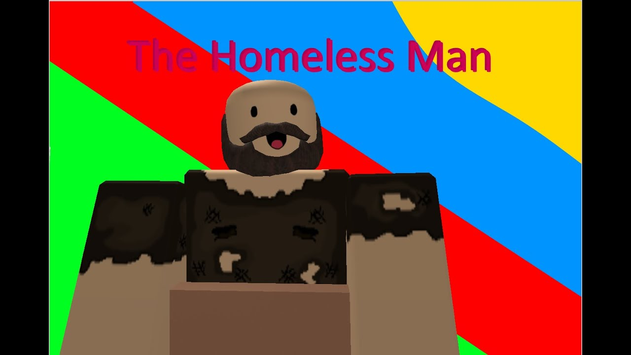 The Homeless Man I Roblox Machinima Youtube