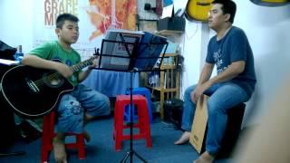 Hoc dan guitar dem hat o tphcm   - Học viên Hoàng Sơn