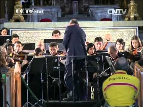 Colombia Orchestra Plays Concert In Memory Of Marquez