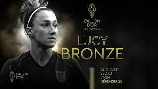 VIDEO: Nominée Ballon D'or : Lucy Bronze | Olympique Lyonnais