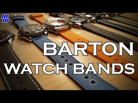 Barton Watch Bands Review - They're Pretty Cool (quick release is awesome)
