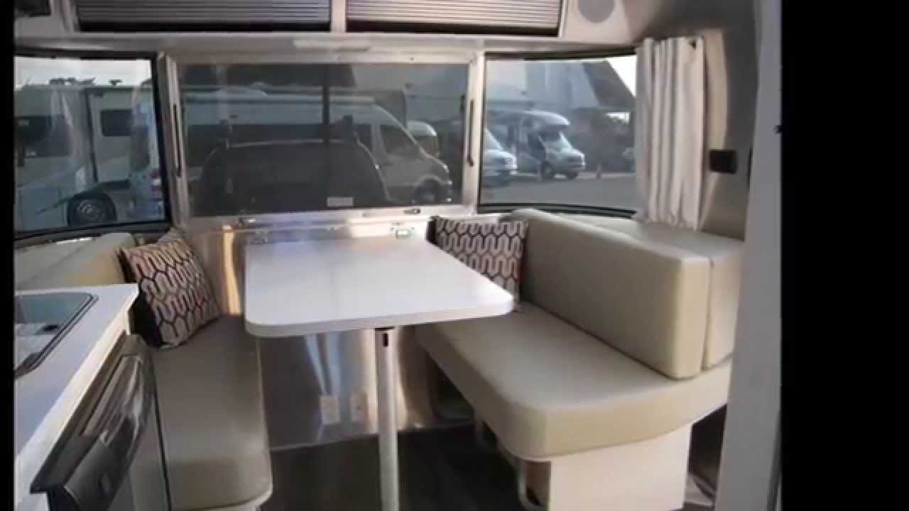 Amazing Very Cute Small Airstream Sport 16J Bambi Travel Trailer For Sale NJ - YouTube