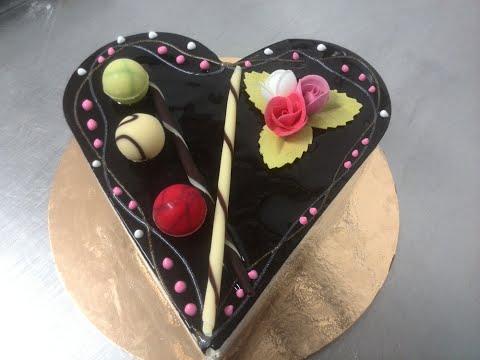 gâteau-en-forme-de-cœur