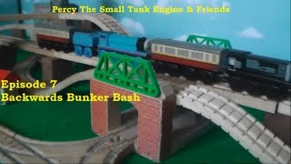 Percy The Small Tank Engine and Friends - Backwards Bunker Bash