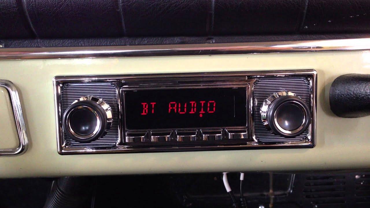 Retrosound Autoradio Quot Model Two Quot Im Volvo Oldtimer Bei
