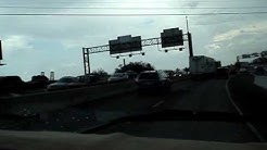 Traffic on I35 south bound in San Antonio Tx