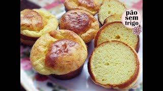 Não Coma Pão – Faça esse Bolinho sem Trigo
