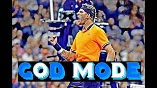What Happens if You Play Against The Best Del Potro ( HD )