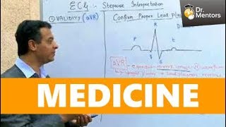 Dr. Srinath Chandramani of Drmentors.com discussing ECG topic | #NEETPG