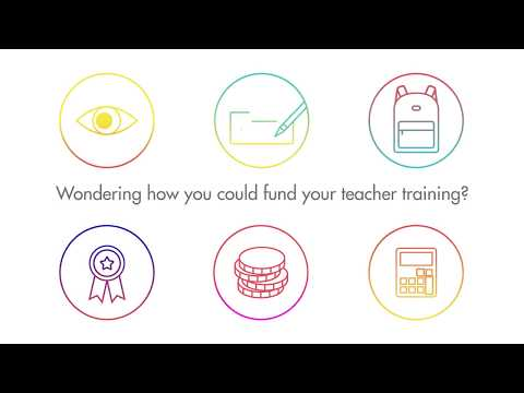 Funding your teacher training
