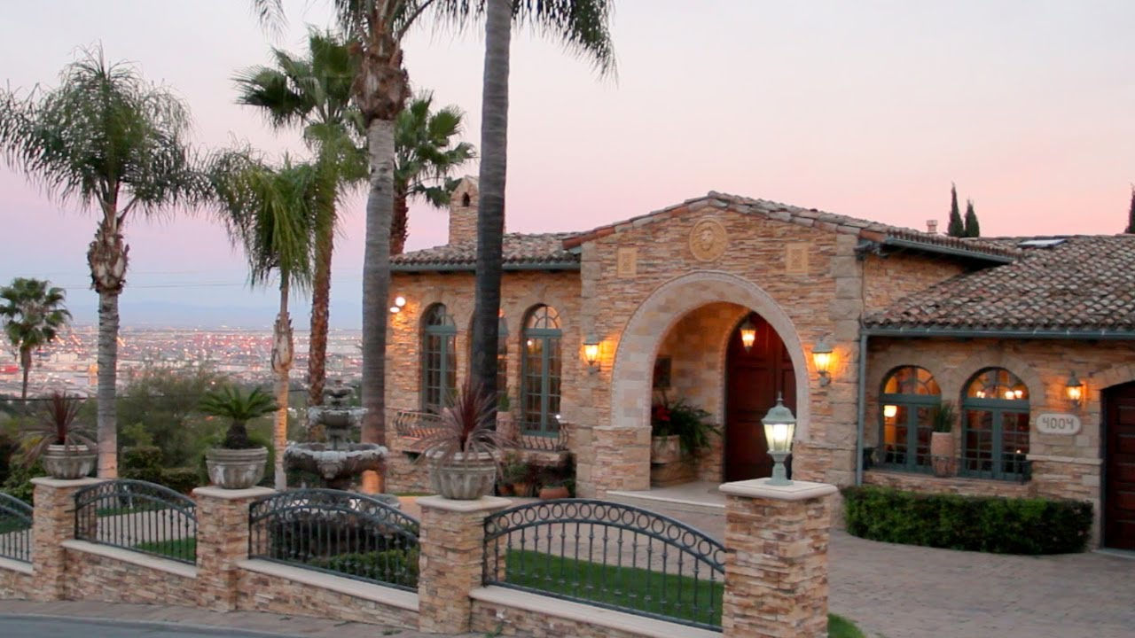 Villa Della Maesta Multi Million Dollar Italian Villa In Southern California Youtube