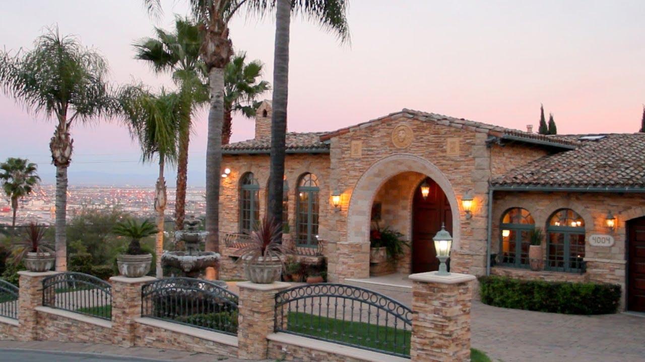 Villa Della Maesta Multi Million Dollar Italian Villa In Southern California Youtube