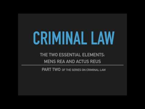 objectives of criminal law