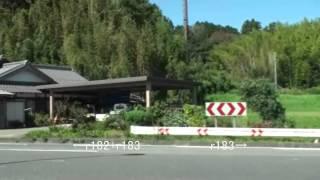 滋賀県道完全走破 182号西明寺水口線/183号日野徳原線