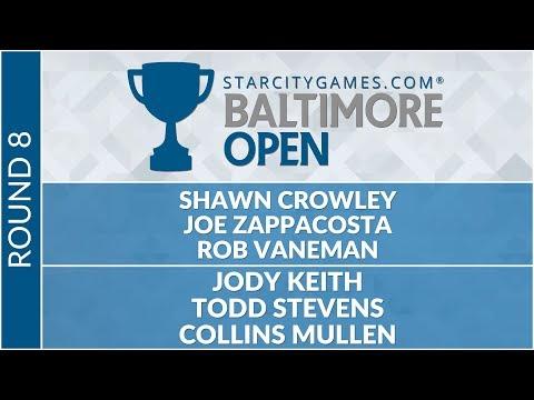 SCGBALT - Round 8 - Crowley, Zappacosta, Vaneman vs  Keith, Stevens, Mullen