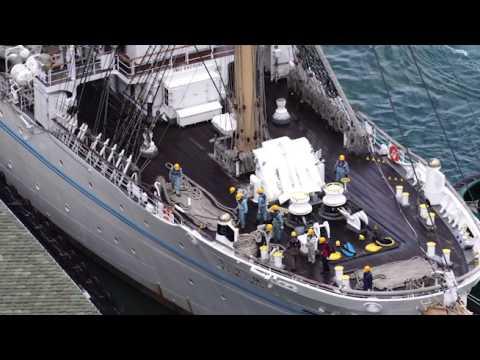 Kaiwo Maru Leaving Honolulu Harbor