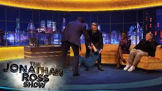 Gordon Ramsay Pushed Rosie Jones To The Floor | The Jonathan Ross Show