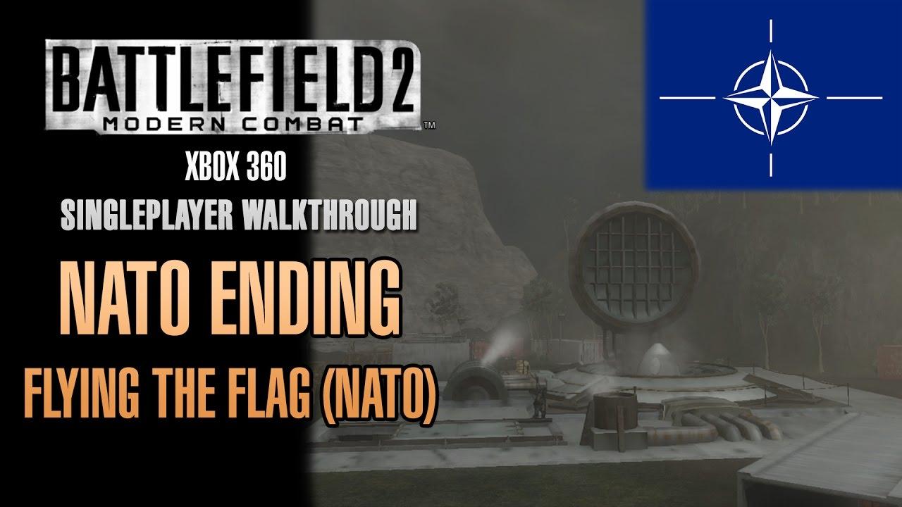 Battlefield 2 Modern Combat Walkthrough Xbox 360 Nato Ending