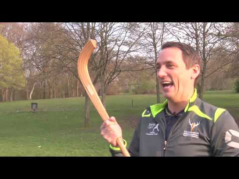 Feet And Away Shinty  -  Gary Innes Part. 1