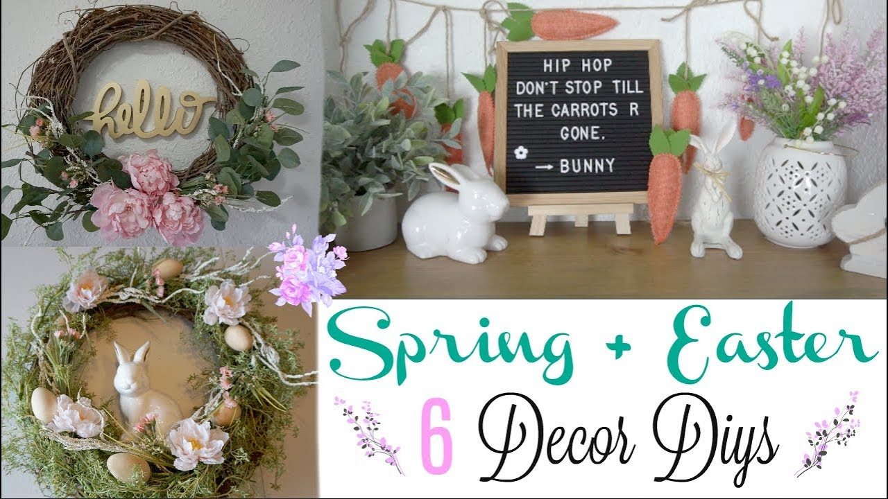 Diy Spring Decor Ideas Transitional Decor Momma From Scratch
