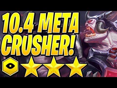 10.4 META BEST COMP! - Teamfight Tactics TFT RANKED Strategy Game SET 2
