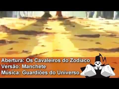 Abertura Cavaleiros do Zodíaco - Guardiões do Universo ( 1 ° Manchete) remasterizado em HD