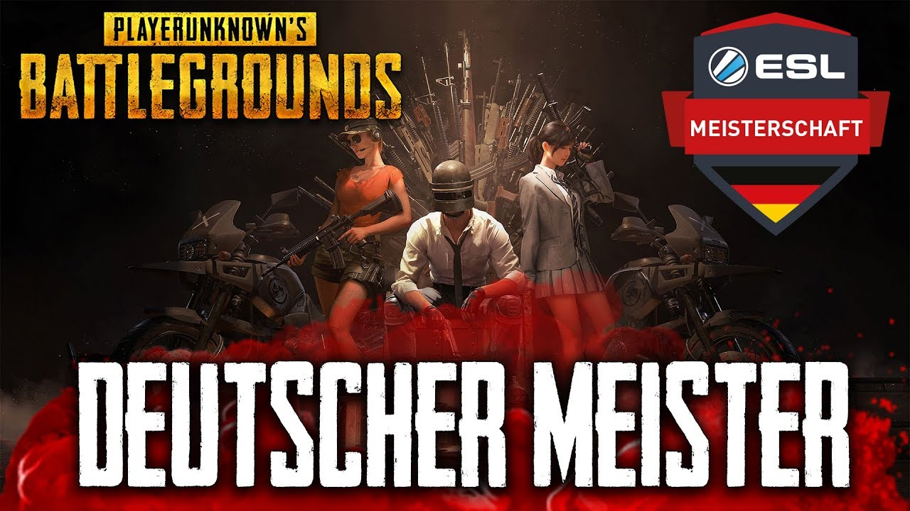 PUBG - Wer wird ESL DEUTSCHER MEISTER im Winter 2018 ? German Deutsch Highlight Gameplay