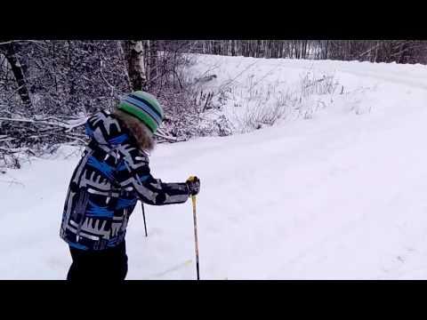 Начинающий лыжник