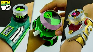 All Best DIY BËN 10 OMNITRIX | How To Make Easy Alien Watch with Interface | Top 4 Compilation