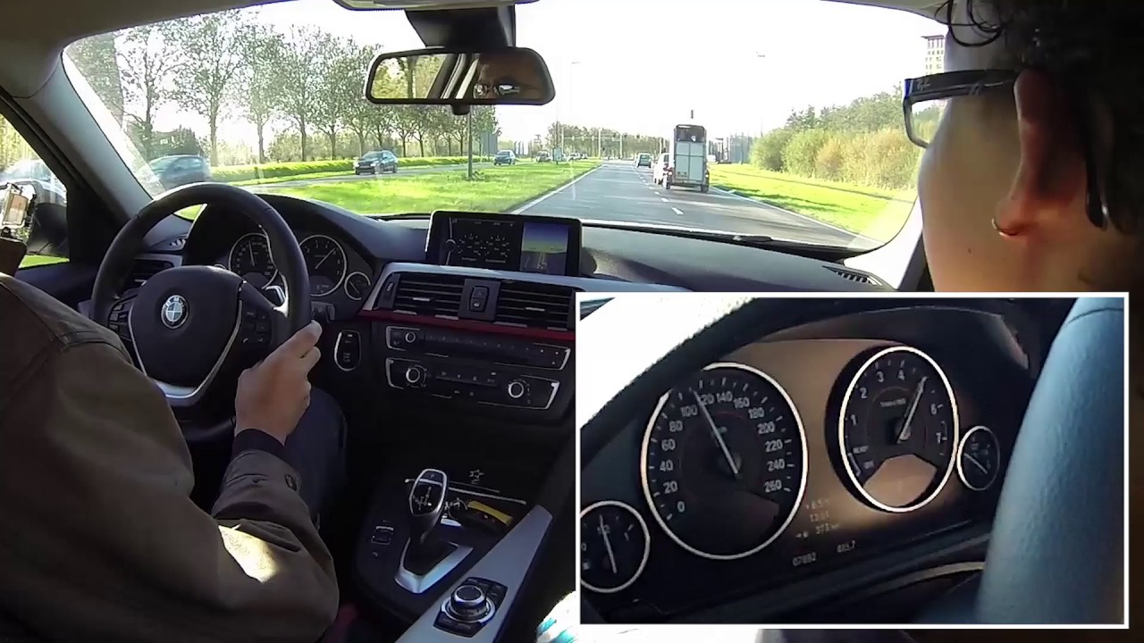 Bmw 328i F30 Acceleration Youtube