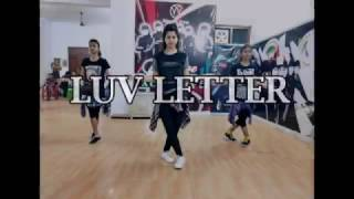 Luv Letter Song Bollywood Dance Routine Choreograph by Vivek Sir